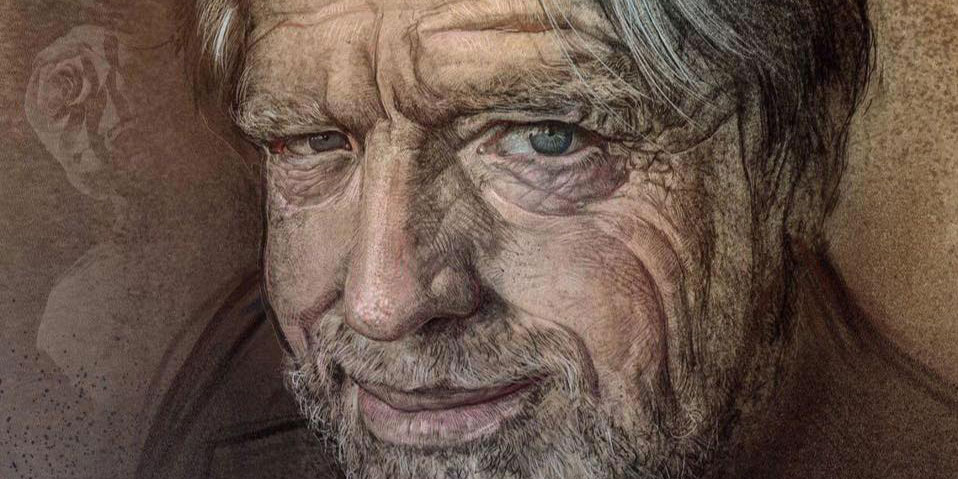 Portrait of John Perry Barlow